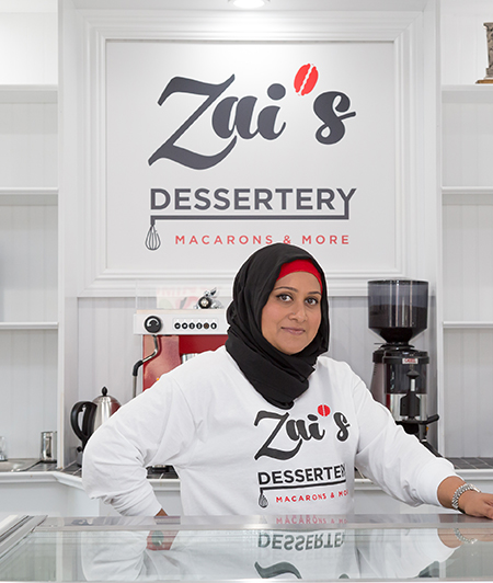 Zai makes the best macarons in New Jersey and NYC