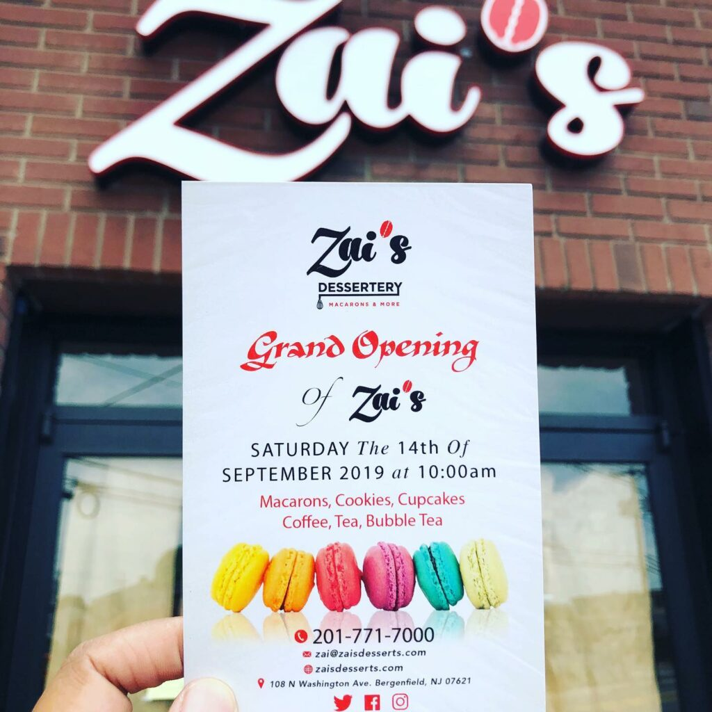 We are having a Grand Re-Opening featuring the best macarons in New Jersey!